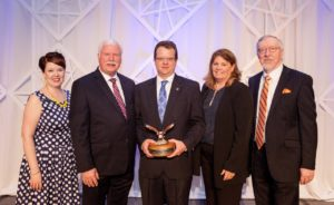 Walsh Named 2016 Outstanding Legislator of the Year By Illinois Park Districts