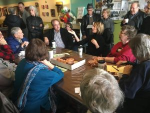Conroy Hosts Coffee Shop Stop in Villa Park, Discusses State Issues