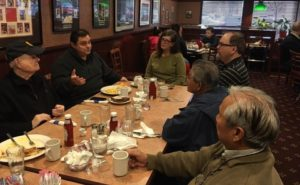 Andrade Discusses State Issues During Coffee And Conversation With Local Residents