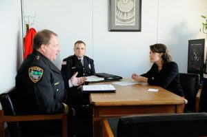 Mussman Meets with Police Chiefs at Capitol