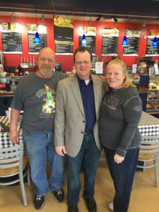 Walsh and Manley Meet with Residents at Coffee Shop Stop