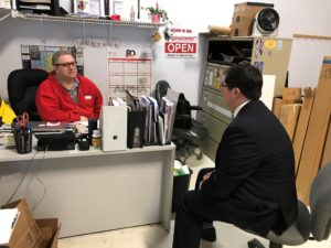 Yingling Visits Local Businesses To Discuss Economic Reform, Job Creation