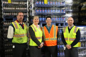 Kifowit Tours Aurora Pepsi Plant, Discusses Ways to Create Job Opportunities for Veterans