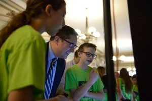 "Grayslake Middle School Students Visit Rep. Yingling for ""Tech Day"" in State Capitol"