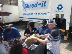 Hernandez and Landek Community Shred Day Draws Large Crowd