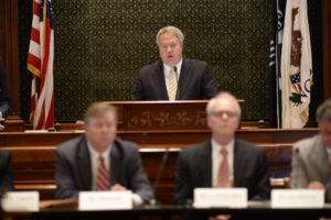 Hoffman Leads Hearing Examining Workers' Compensation Reform Proposals