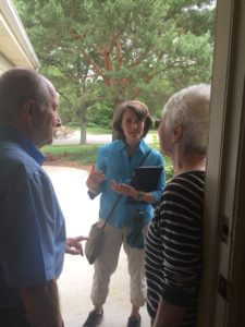 Mussman Takes Listening Tour Door-to-Door