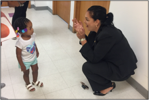 Chapa LaVia, Rachel's Learning Center Staff Discuss Opportunities for Child Development