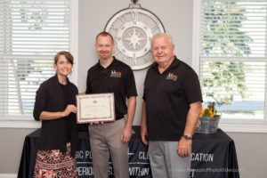 Mussman Presents Certificate of Recognition to A&A Paving Contractors