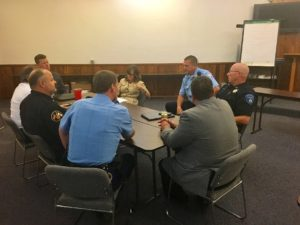Stuart Meets with Local Public Safety Officials