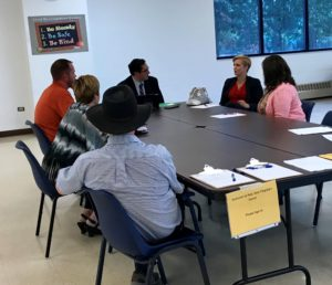 Yingling Meets with Local Business Leaders