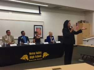 Chapa LaVia Speaks at Metea Valley on Latinos in  Public Service Panel