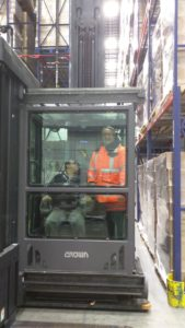 Connor Visits Aryzta Observes Large Scale Baking Operation In Romeoville