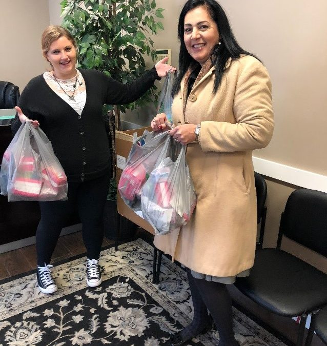 Chapa LaVia Delivers Hygiene Product Drive Donations to Mutual Ground