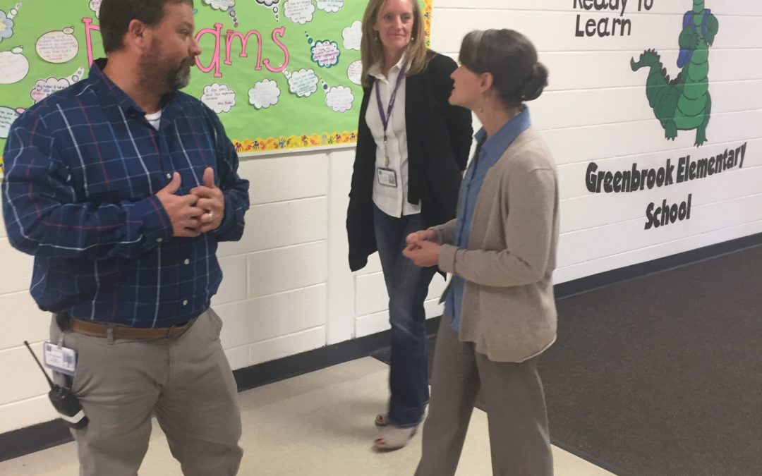 Mussman Tours Greenbrook Elementary in Hanover Park