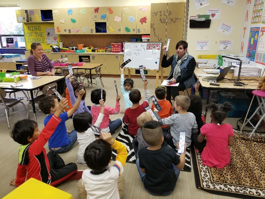 Manley Visits Bolingbrook School, Serves as Principal for a Day