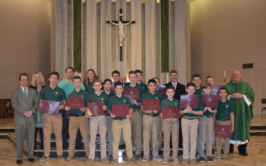 Walsh Recognizes St. Paul's Baseball Team on Winning State Title
