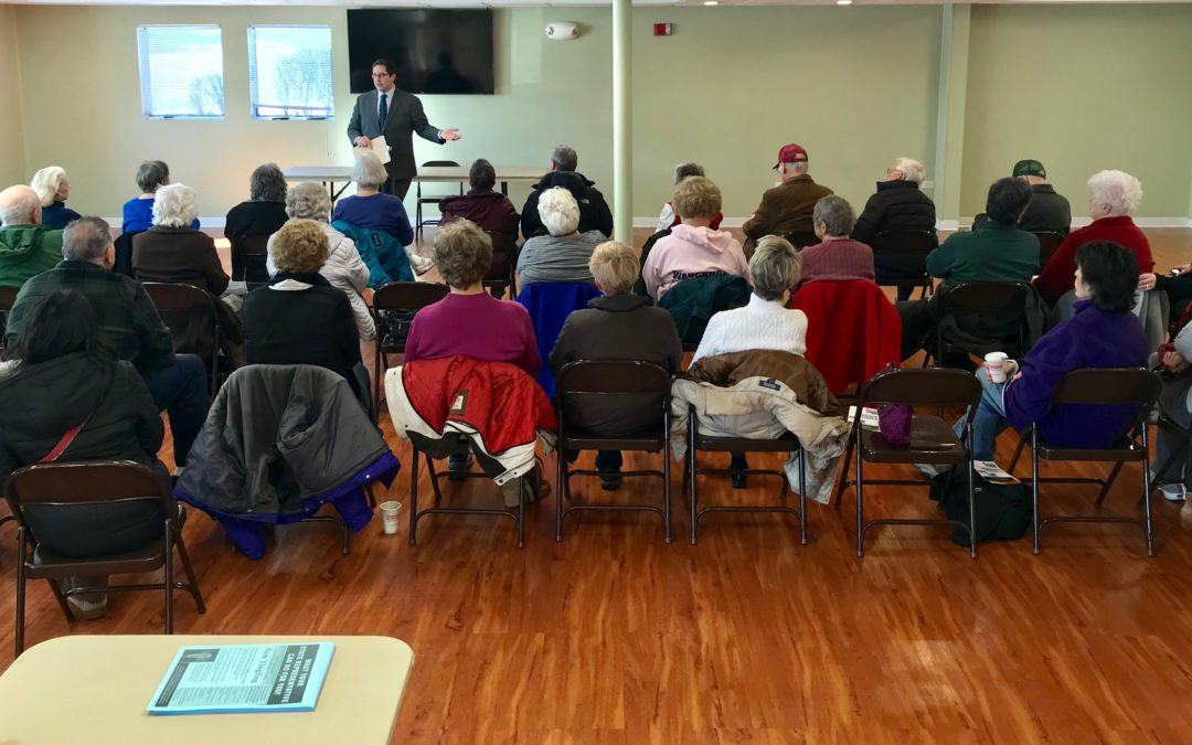 Local Seniors Weigh In On State Issues at Yingling Forum