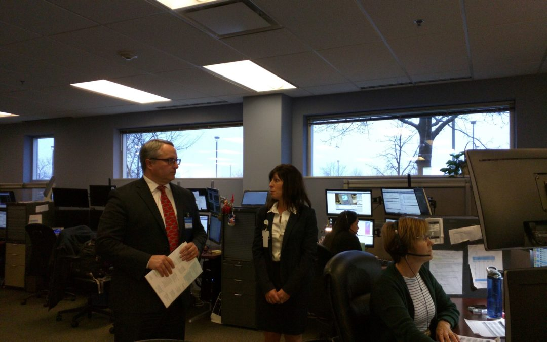 Rep. Connor Meets with Presence Healthcare Professionals