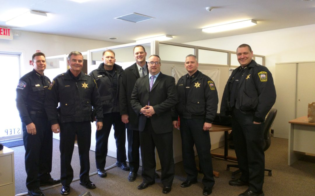 Rep. Connor Hosts Public Safety Roundtable  Discussion with Police, Fire Leaders