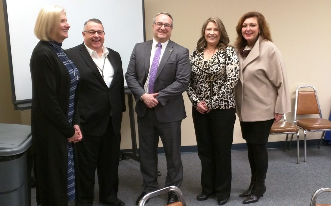 Rep. Connor Meets with Will County School District Superintendents