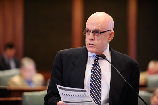 Majority Leader Harris Responds to Governor's Budget Address