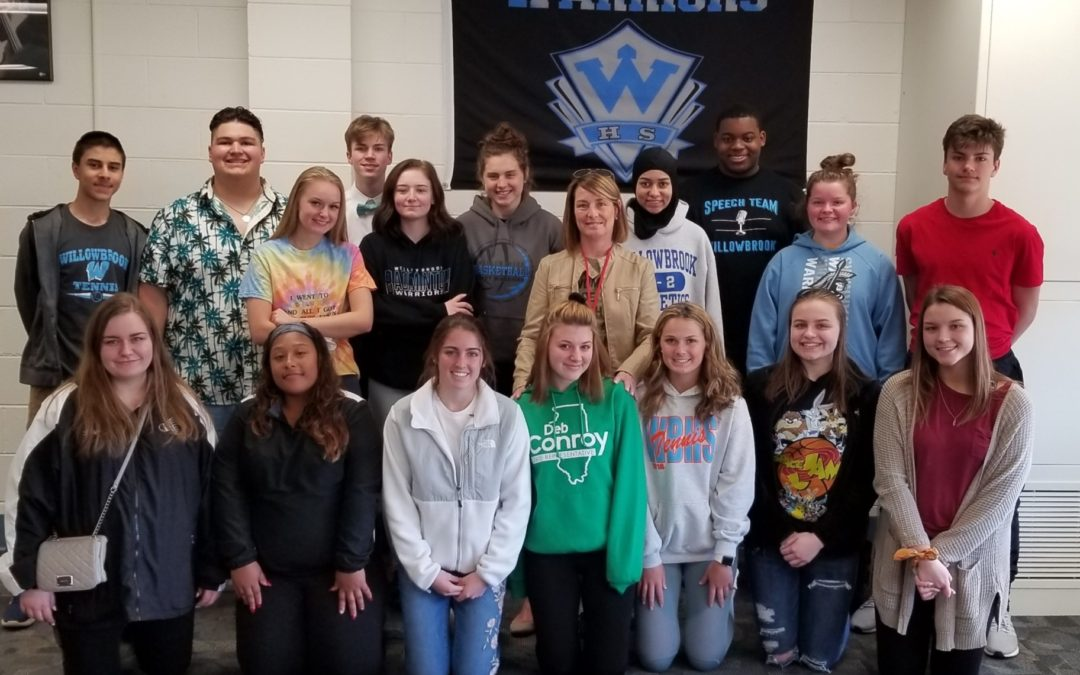 Conroy, Students Discuss Importance of Civic Involvement at Willowbrook High School