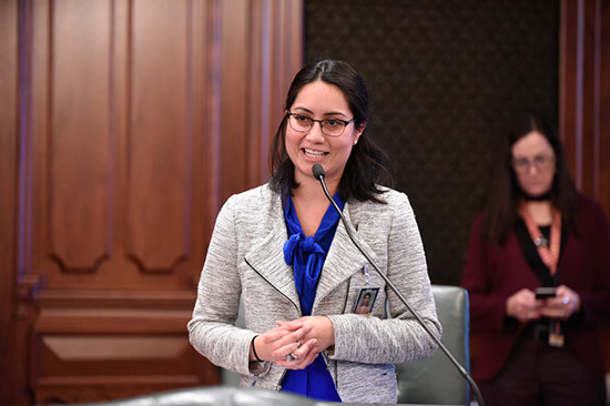 State. Rep Hernandez Fights for Affordable Health Care, Fair Taxes, High-Wage Jobs during First Session