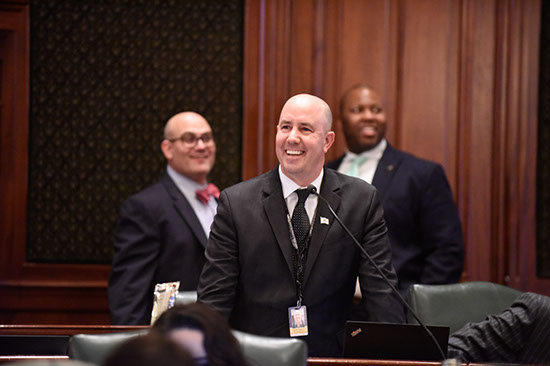 Yednock Legislation to Provide Labor Education for Firefighters Sent to Governor