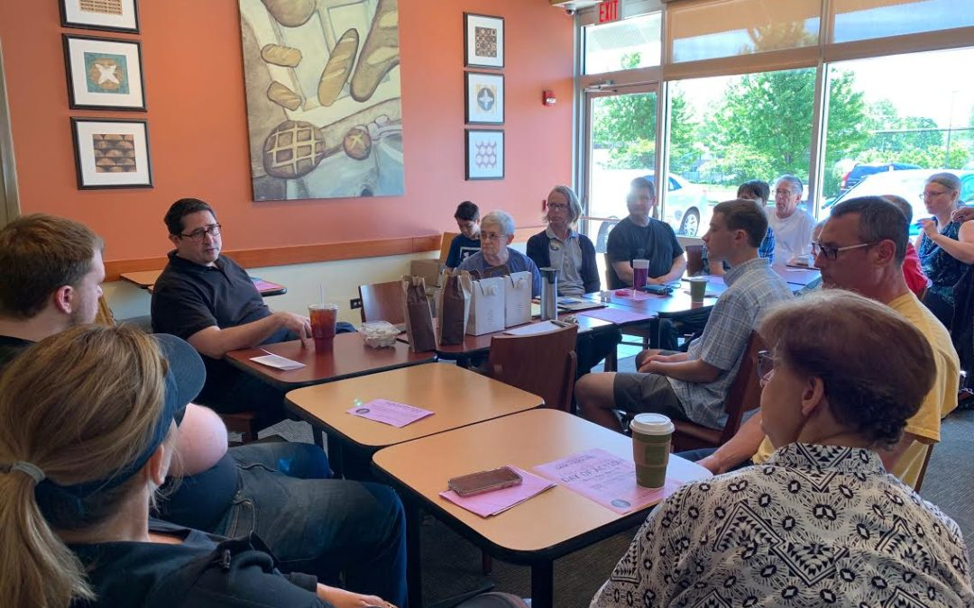 Yingling Updates Residents on End of Spring Session and Gets Feedback for Future Work