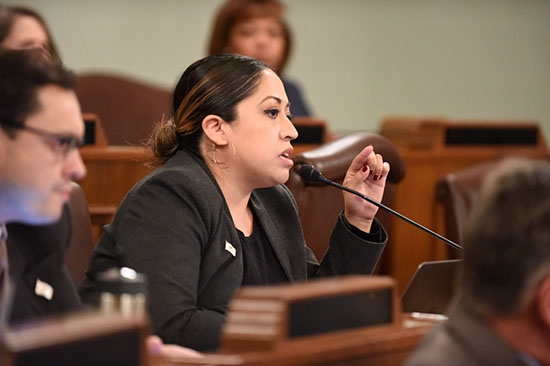 Villanueva Fights for Fair Tax for Middle Class, Protections for Immigrant Families in First Legislative Session