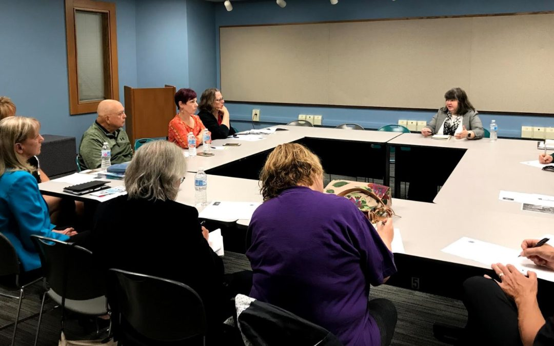 Pappas Speaks to Senior Citizens and Organizations at District Advisory Panel