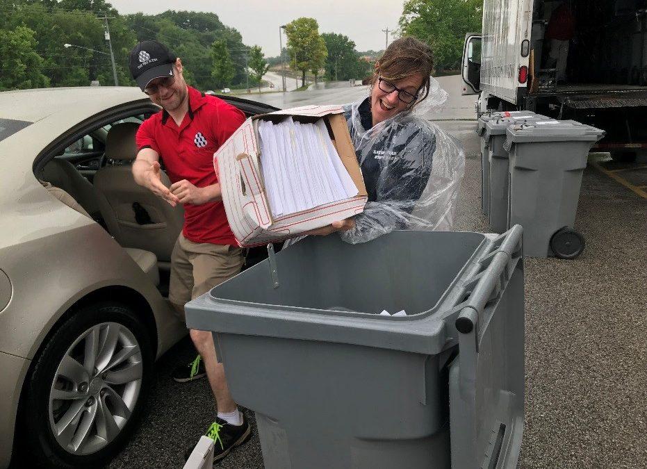 Stuart Hosts Community Shred Day in Edwardsville to Help Prevent Identity Theft