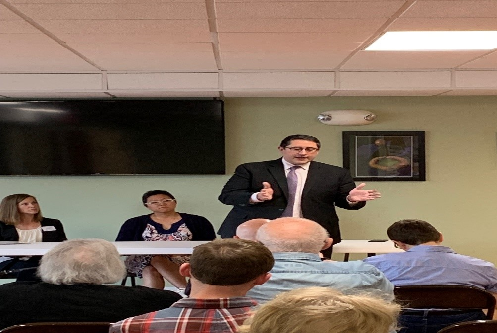 Yingling Holds Town Hall for Saddlebrook Residents