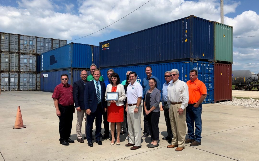 Scherer Honored For Helping Invest in Infrastructure, Creating New Jobs