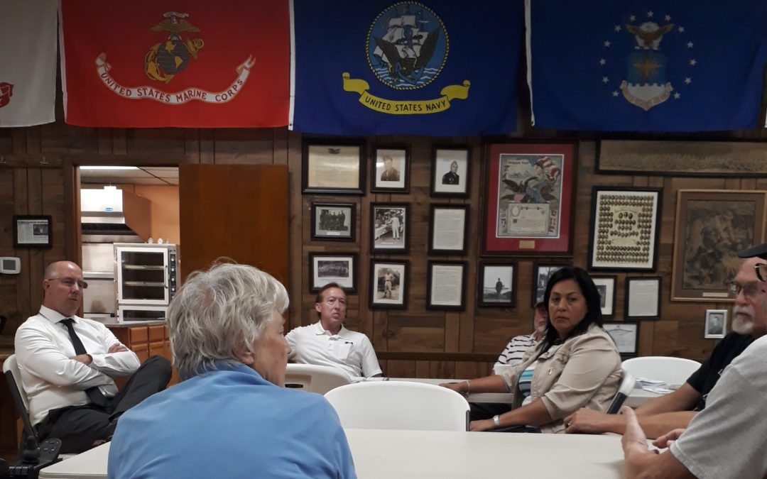 Yednock Assists Local Veterans During Council Meeting