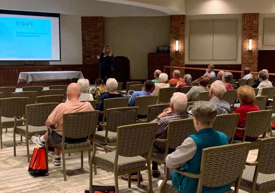 Costa Howard Hosts Senior Fraud Prevention Seminar