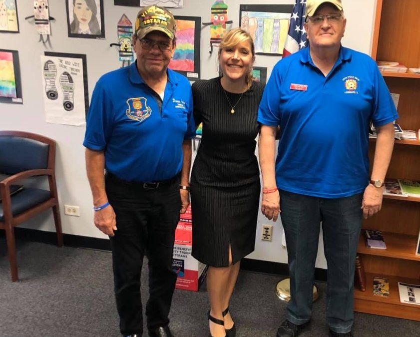 Costa Howard Meets with Area Veterans, Announces Drive to Collect Supplies for Troops Overseas