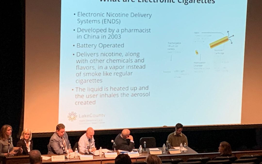 Edly-Allen Hosts Town Hall Meeting on Dangers of Vaping