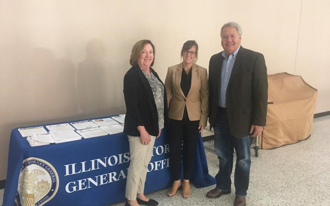 Hoffman Hosts Senior Fraud Prevention Seminar in Granite City