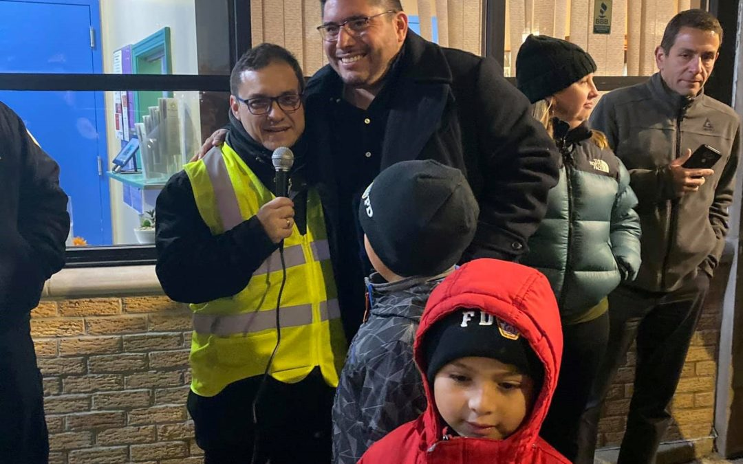 Andrade Joins Neighbors for Community Safety Event