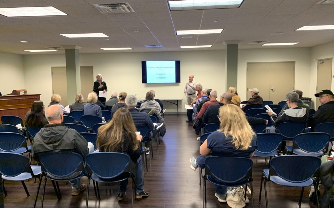 Edly-Allen Hosts Property Tax Seminar, Helps Residents Learn How to Reduce Tax Bills