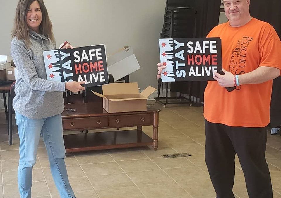 """Hurley Urges Residents to Stay Home, Offers """"Stay Home, Stay Alive"""" Signs to Community"""