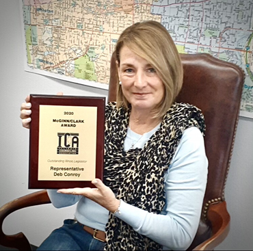 Conroy Named Outstanding Illinois Legislator by Illinois Counseling Association