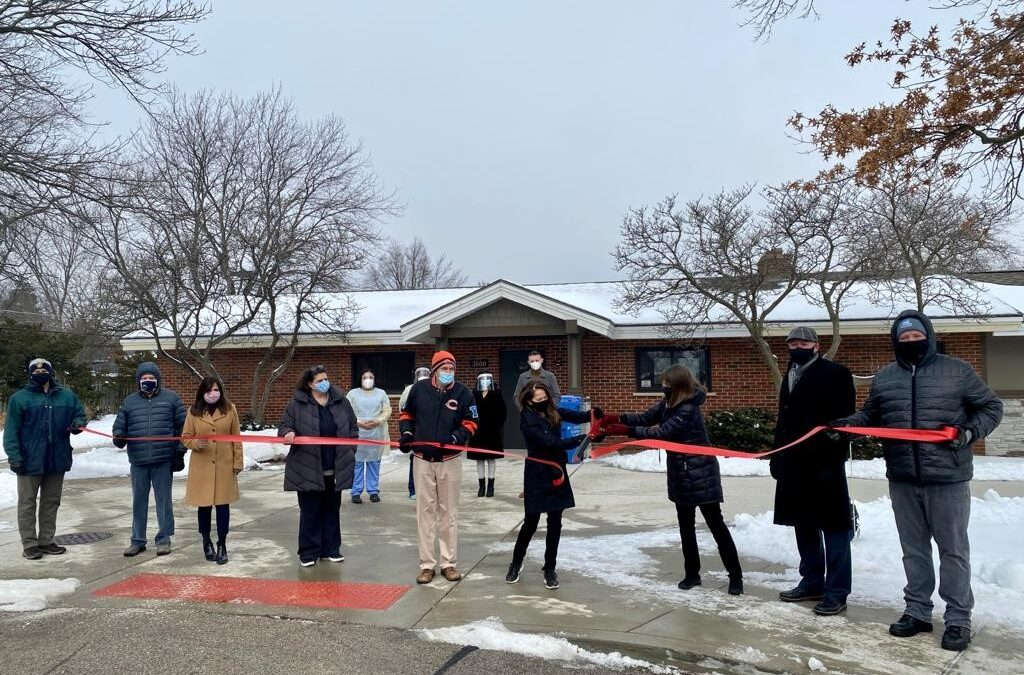Gong-Gershowitz Opens Free COVID-19 Testing Site in Glenview